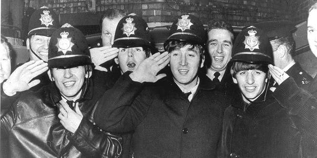 The Beatles George Harrison, Paul McCartney, John Lennon, Ringo Starr