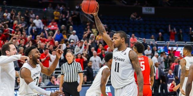 NCAA basketball Cincinnati