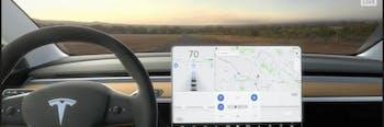Elon Musk Says the Tesla Model 3's Interior is Built For Autonomy