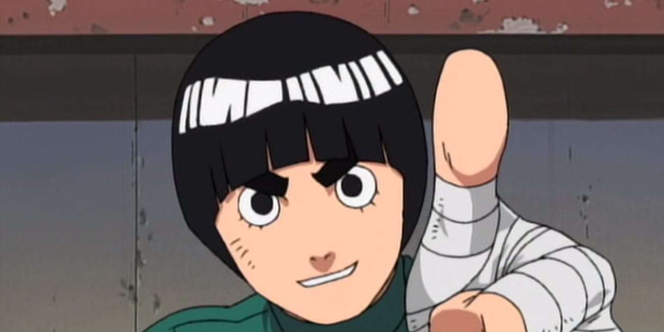 rock lee should be your favorite naruto character by far inverse