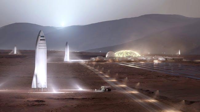 Il BFR su Marte
