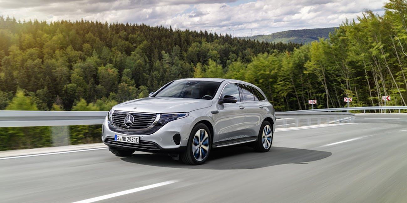 Mercedes-Benz electric car