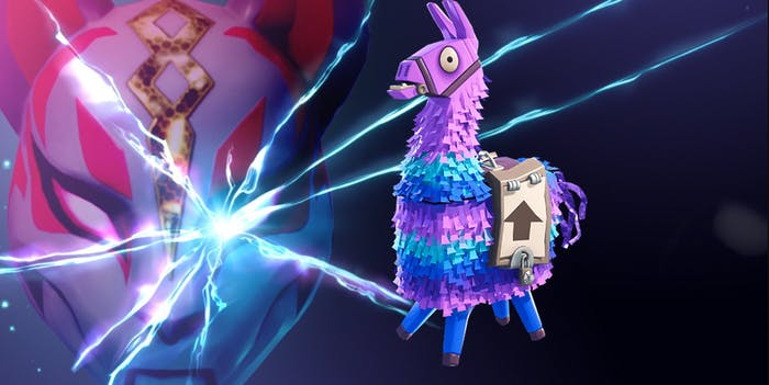 Llamas and cats are everywhere across the 'Fortnite' multiverse.