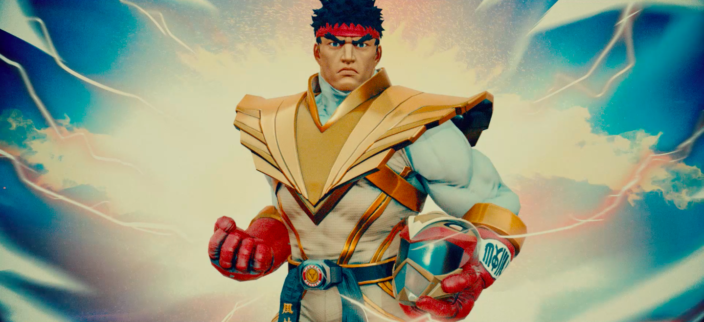 Street Fighter' Ryu Is Becoming a Power Ranger in 'Legacy