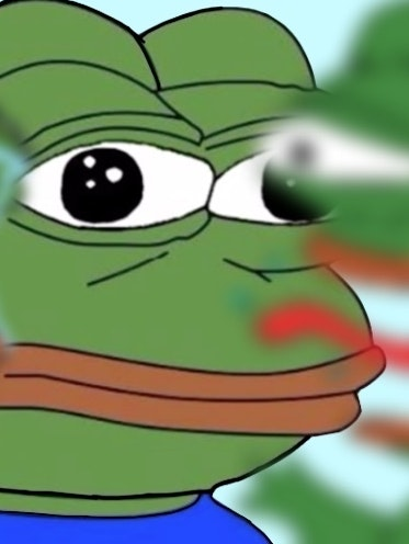 Pepe is caught in the center of a political debate