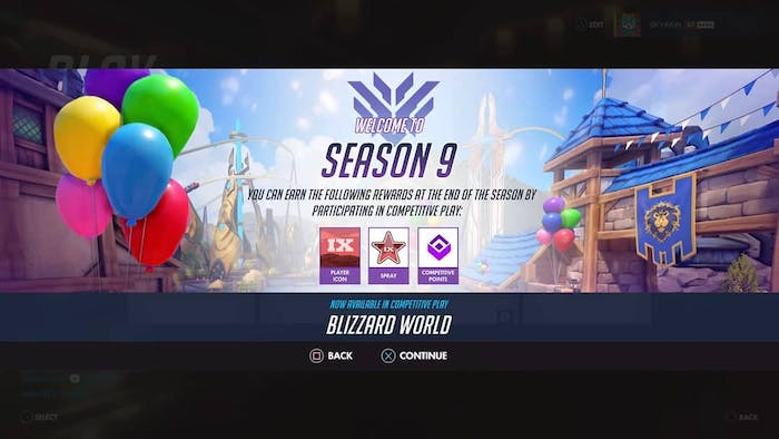 The most recent 'Overwatch' season is Season 9, and it introduced players to a new map called Blizzard World.