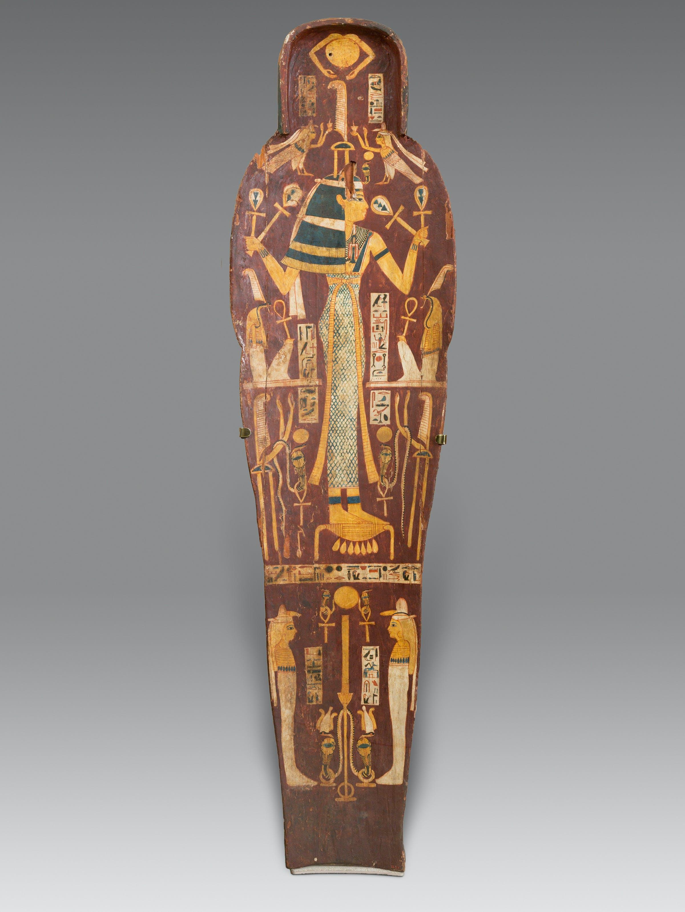 Mummy, coffin