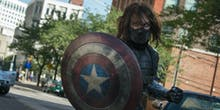 Sebastian Stan Teases Fans With the Winter Soldier's Shield