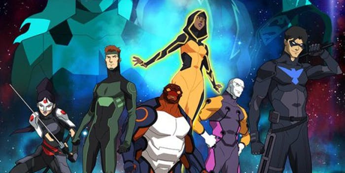 The new 'Young Justice' heroes suit up for Season 3, 'Outsiders'.
