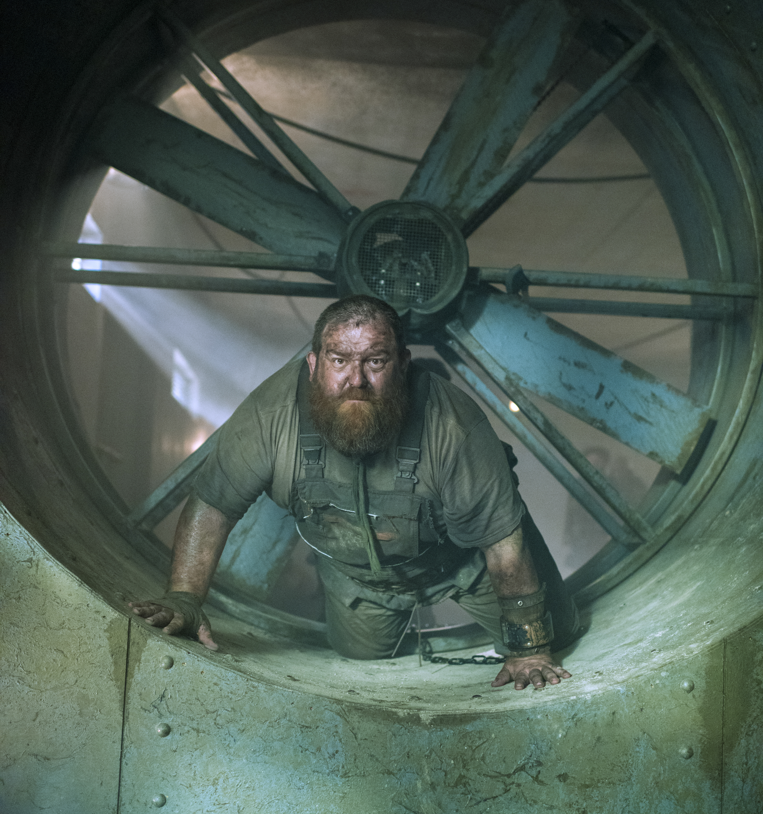 Nick Frost as Bajie in 'Into the Badlands'
