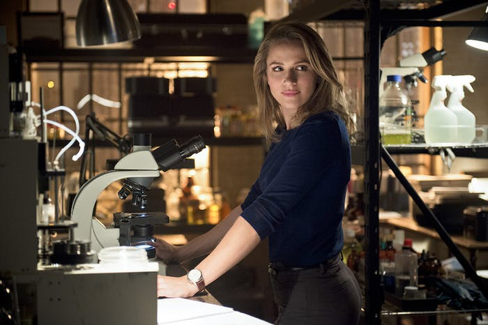 Earth-2 Patty Spivot became a CSI long before her Earth-1 counterpart.