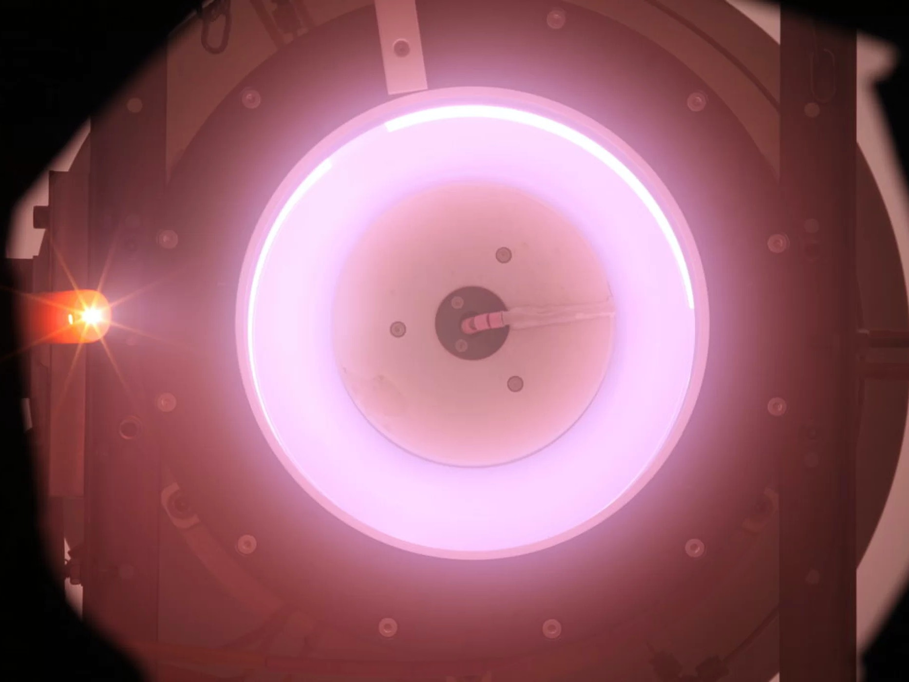 Air breathing ion thruster