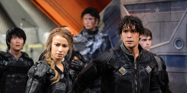 Bob Morley in 'The 100' Season 4