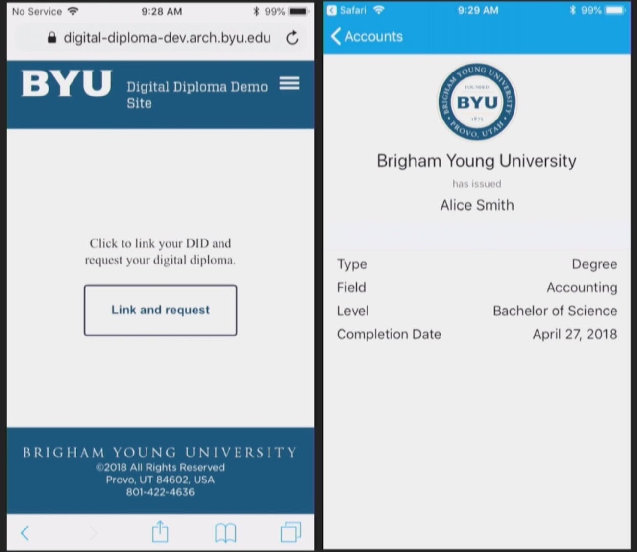 BYU's concept app.