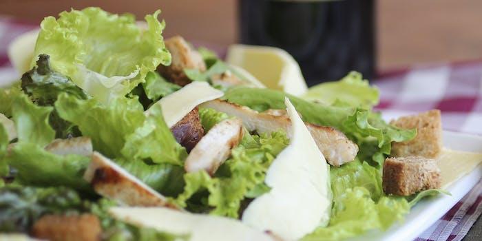 caesar salad romaine lettuce