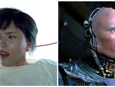 New 'Ghost in the Shell' Clips Suggest a 'RoboCop' Plot