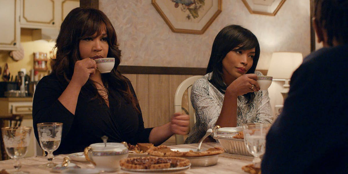 """Denise's mom and auntie in """"Thanksgiving"""""""