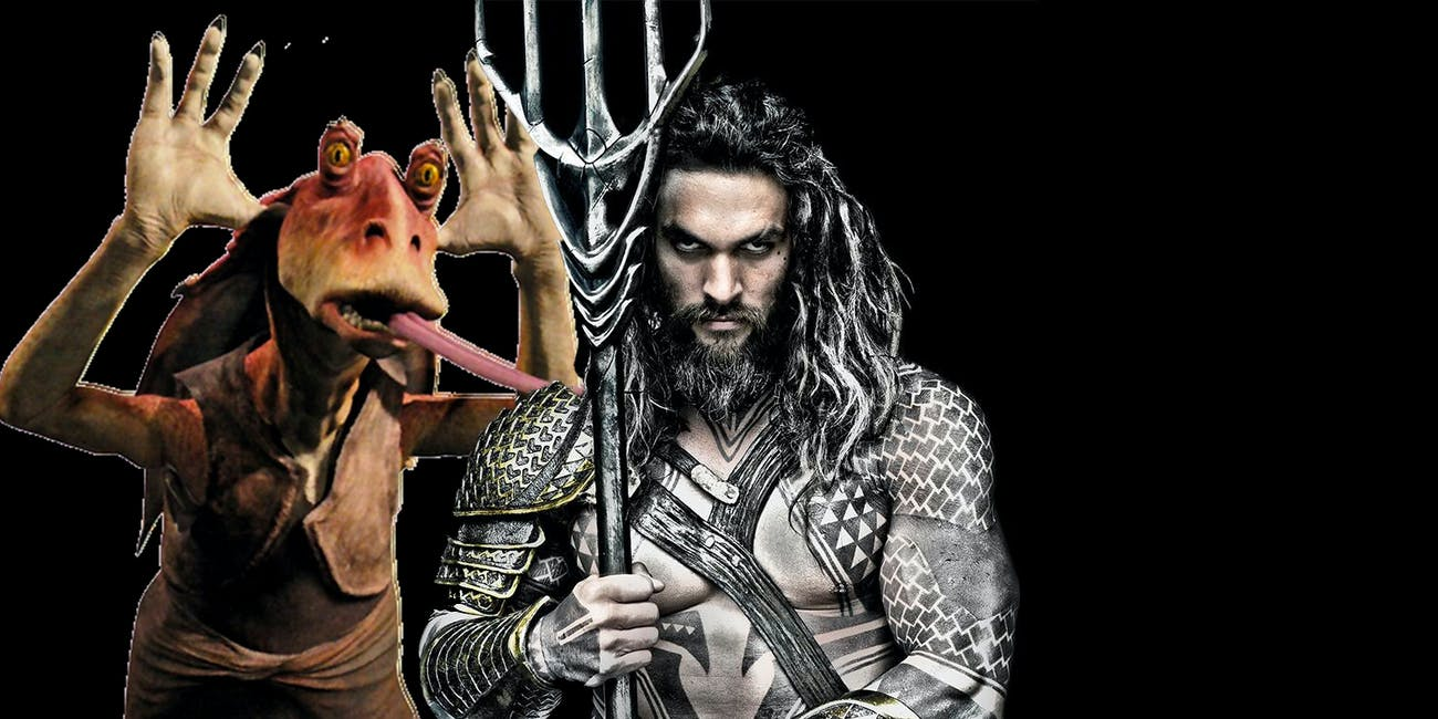 Aquaman Jar Jar Binks