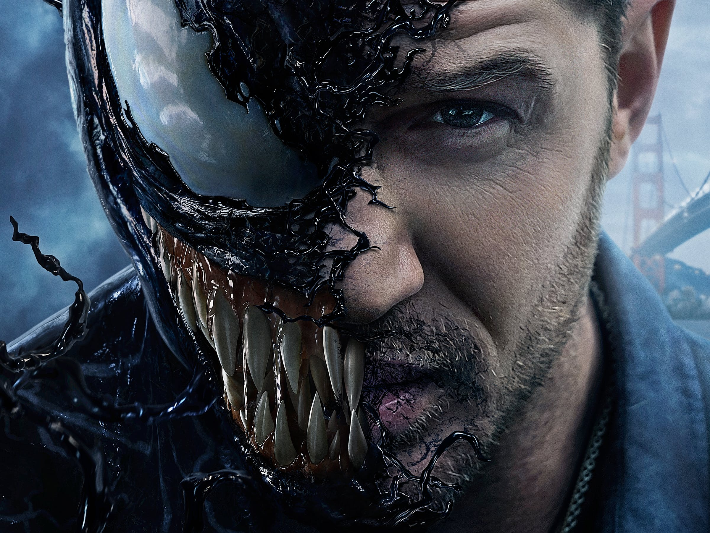 Venom' Review: A Slimy Thriller That Wags Its Tongue at