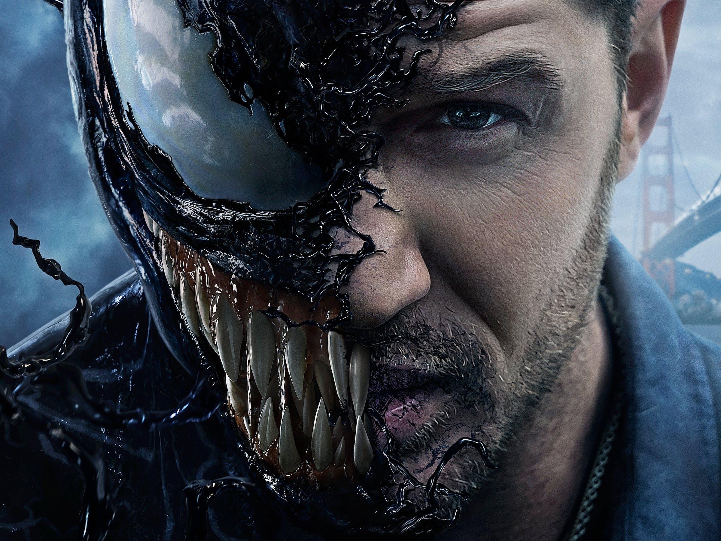 Venom Marvel Poster