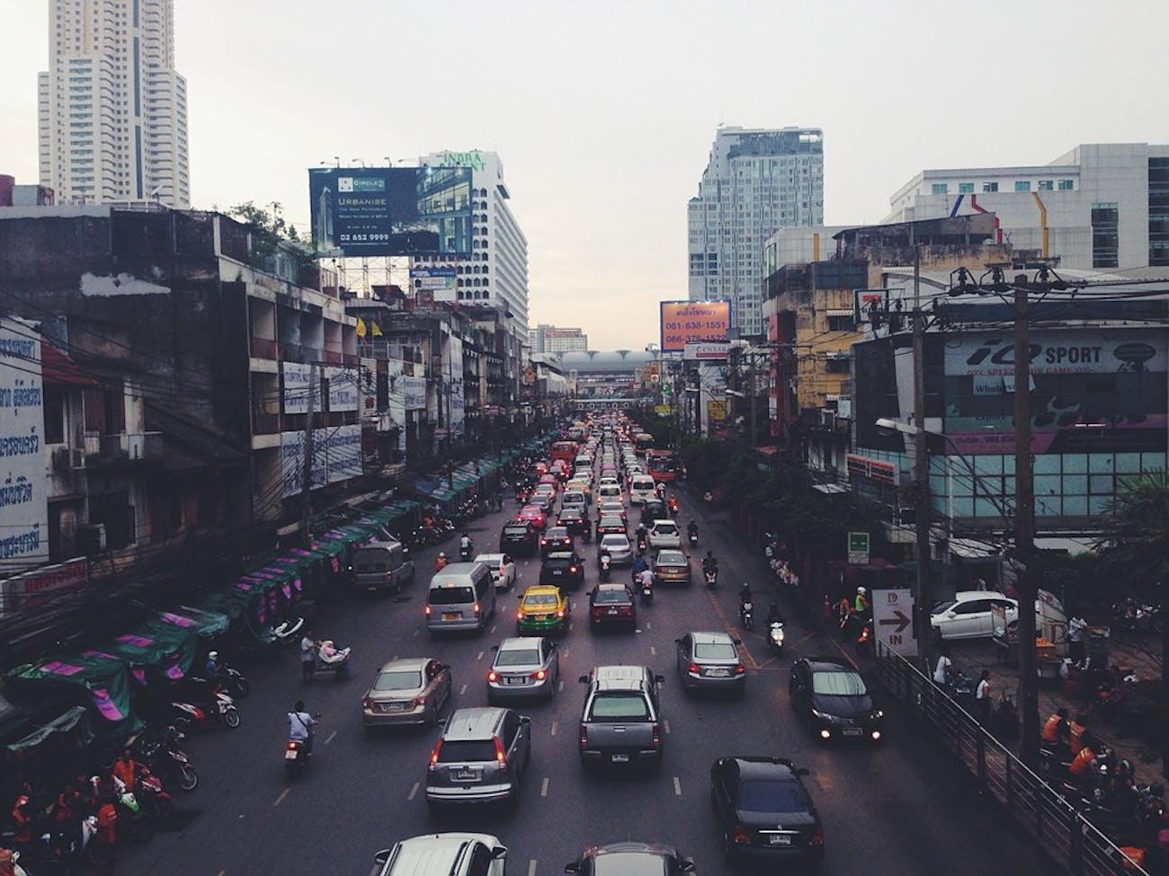 traffic india