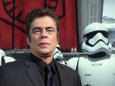 Did Benicio del Toro Rip Off Han Solo Before 'The Last Jedi'?