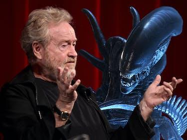 Surprise: 'Alien' Creator Ridley Scott Believes in Aliens