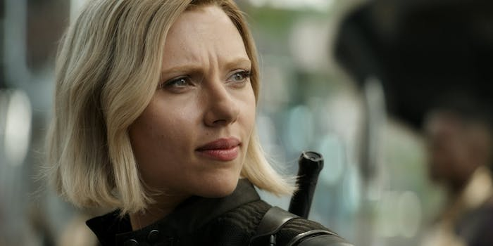 Black Widow shines in the latest 'Avengers: Infinity War' teaser.