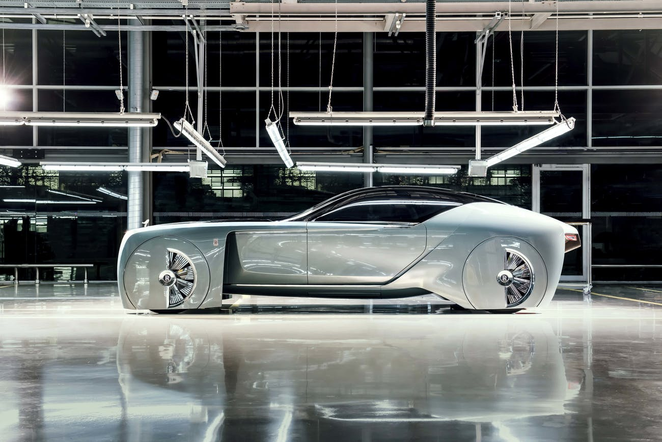 The Rolls-Royce VISION NEXT 100