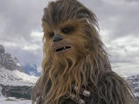 Chewbacca in 'Solo: A Star Wars Story'.