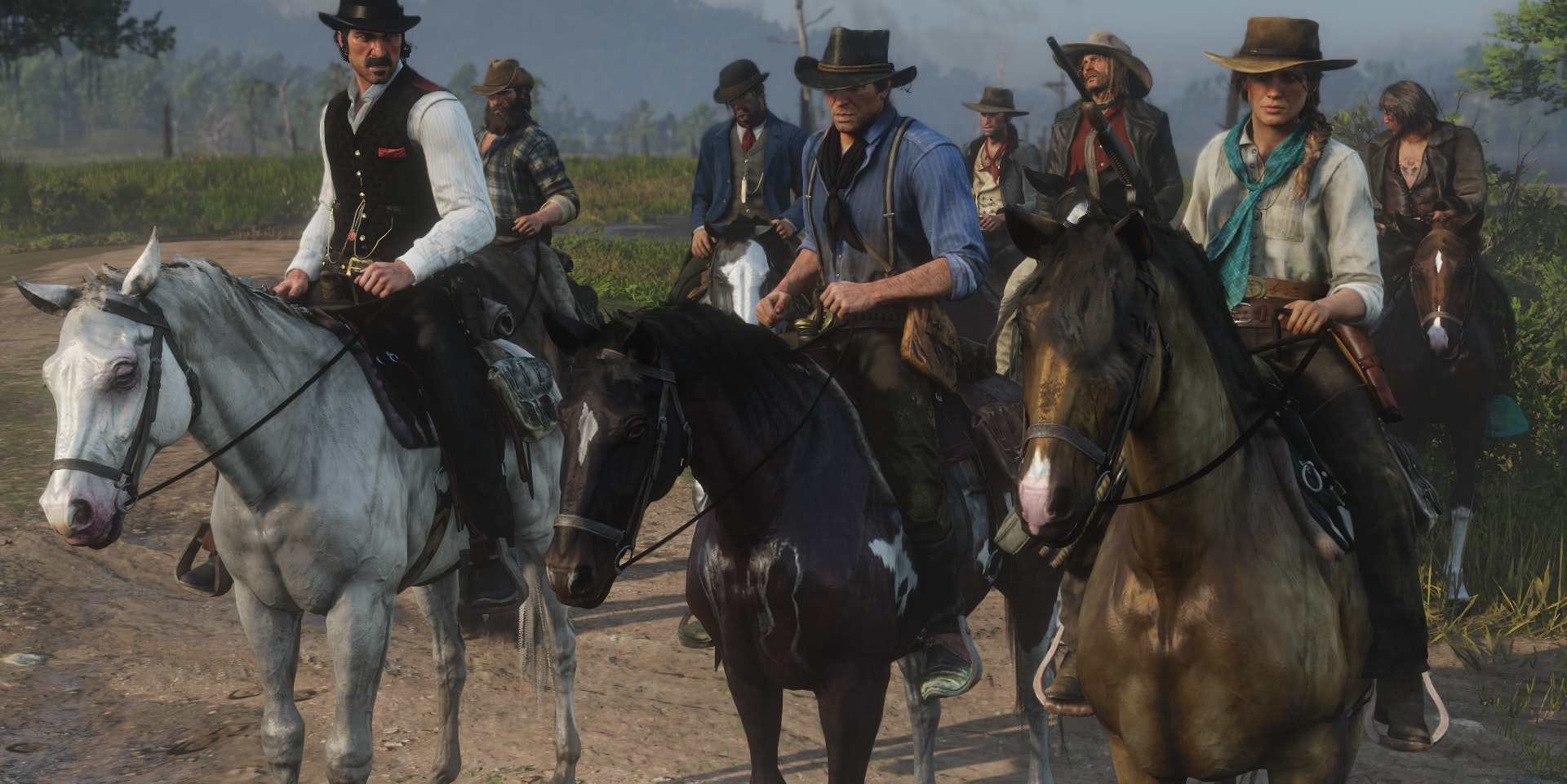Red Dead Redemption 2 Best Horses How To Find And Tame The Top