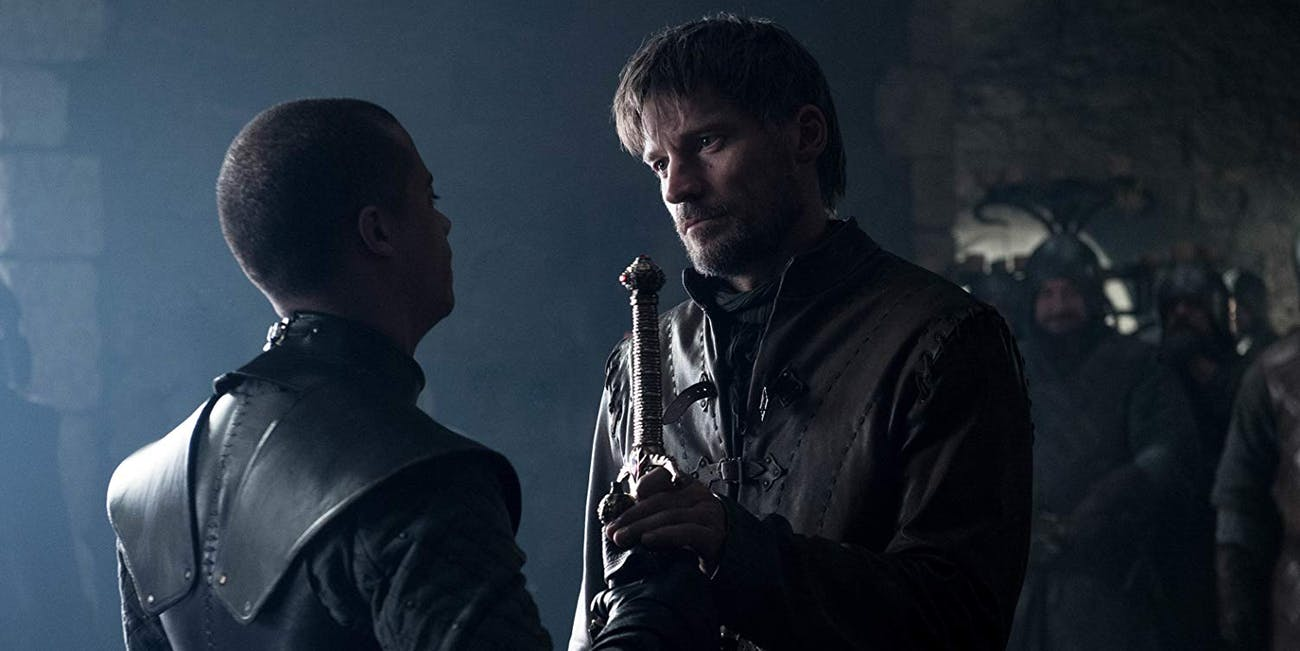 "Nikolaj Coster-Waldau as Jaime Lannister in 'Game of Thrones' episode ""A Knight of the Seven Kingdoms"""