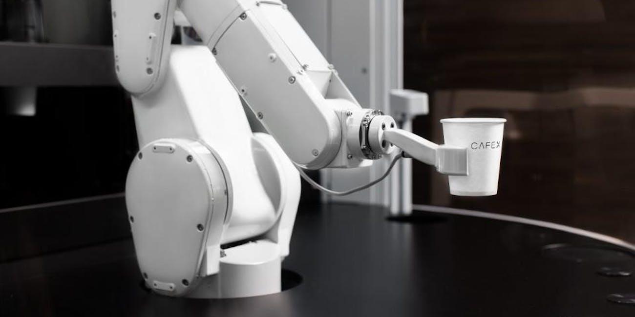 The Cafe X Robot Barista Has Begun Work in San Francisco