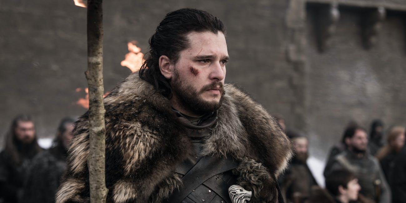 Jon Snow in Game of Thrones Season 8