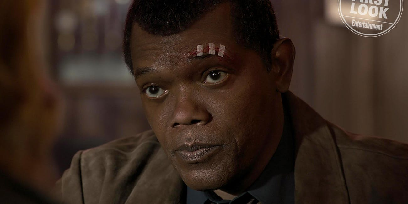 'Captain Marvel' Young Nick Fury