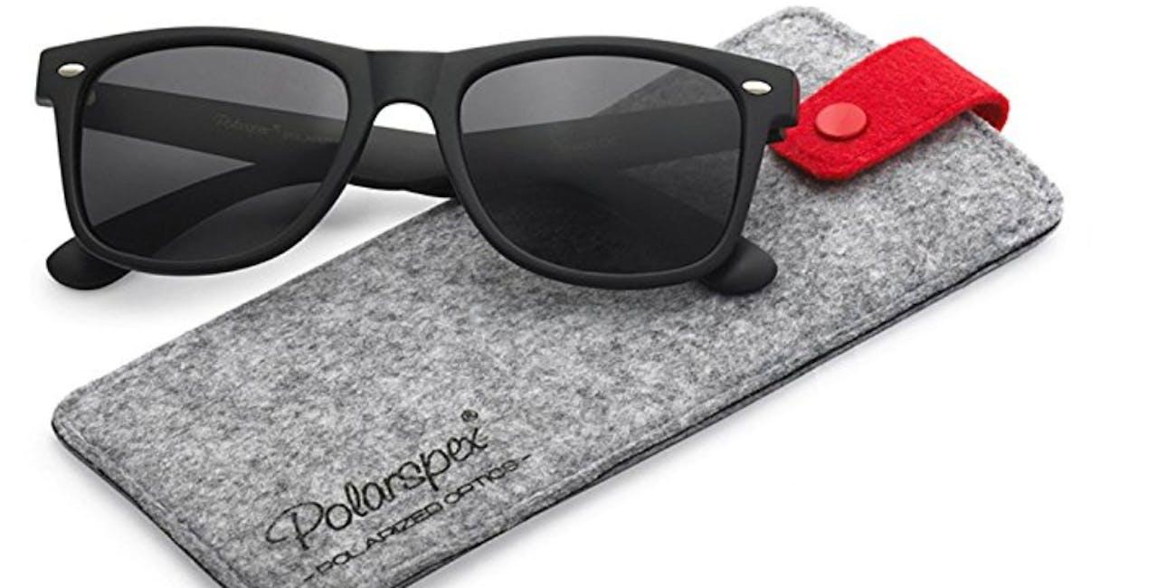 Polarspex Polarized 80's Retro Classic Sunglasses