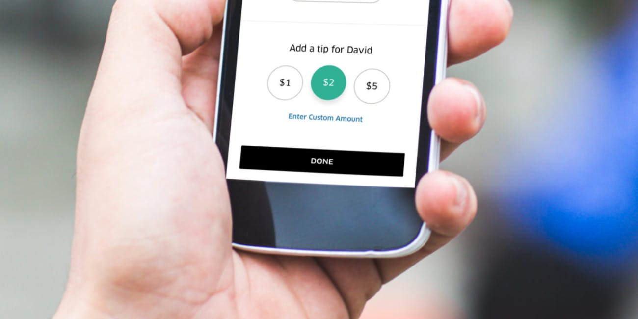 Tipping Seattle Minneapolis Houston Rider App