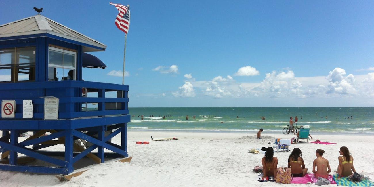siesta key beach parking fee