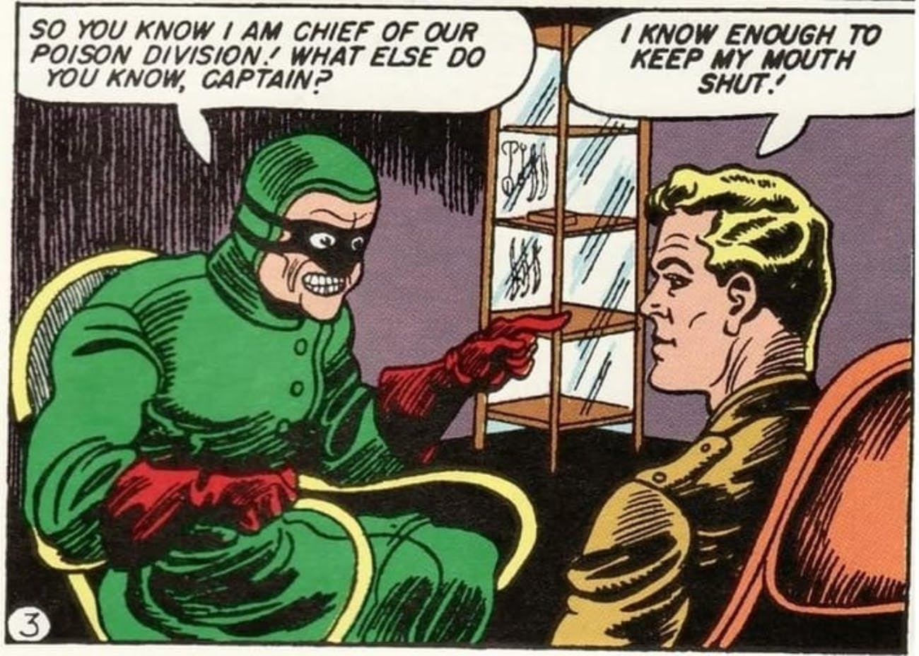 Doctor Poison Wonder Woman