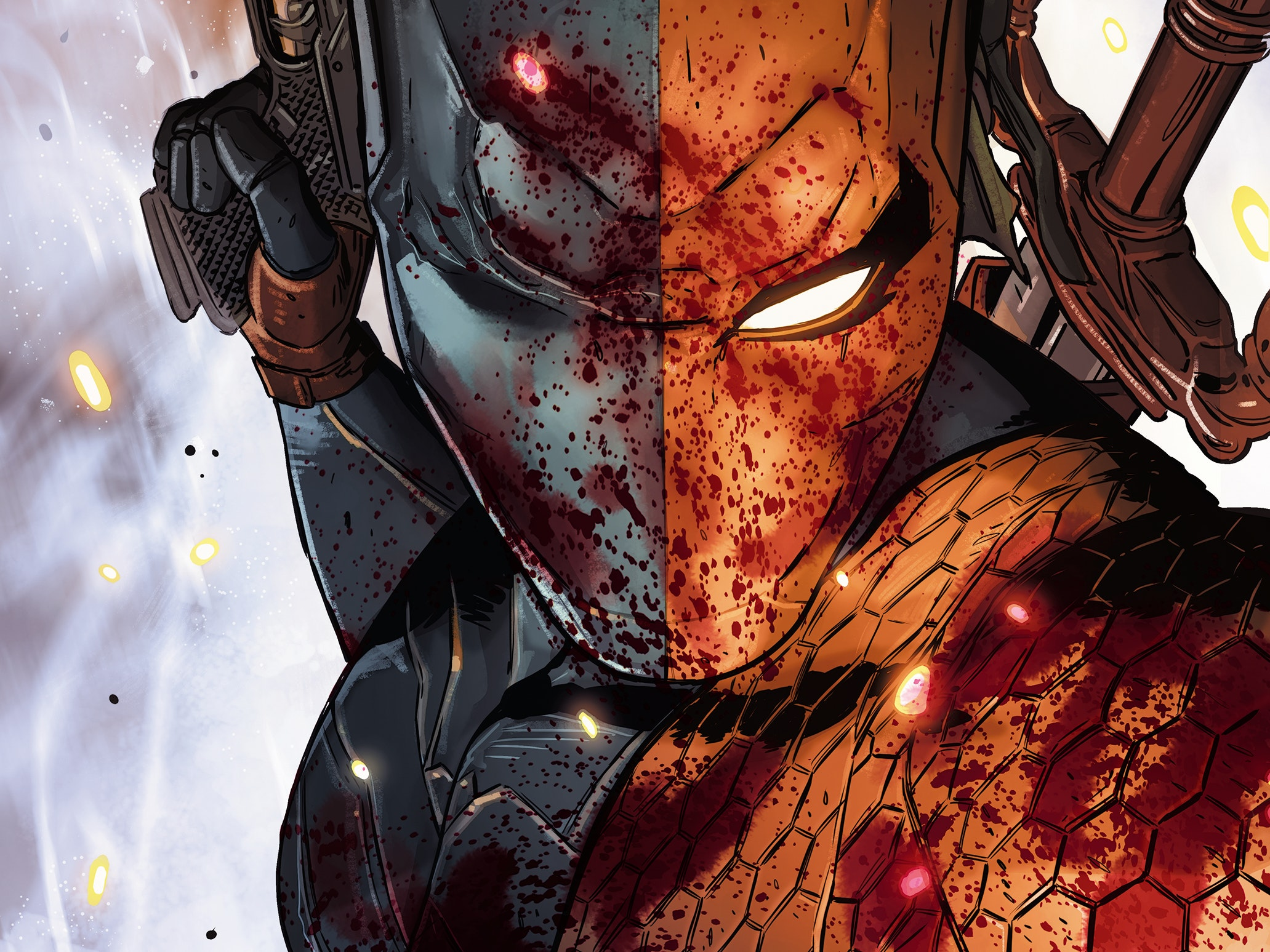 'Deathstroke: Rebirth' Dives Into The Frightening Mind Of a Killer