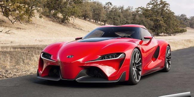 Toyota's FT-1 Concept Car