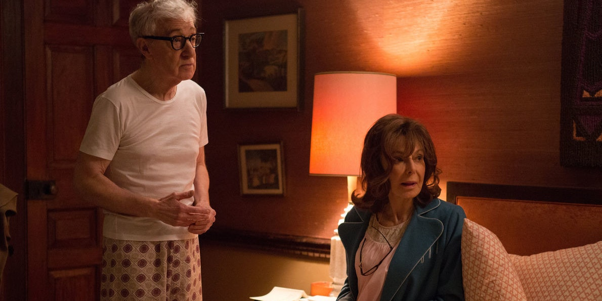 Woody Allen and Elaine May in the Amazon TV series 'Crisis in Six Scenes'