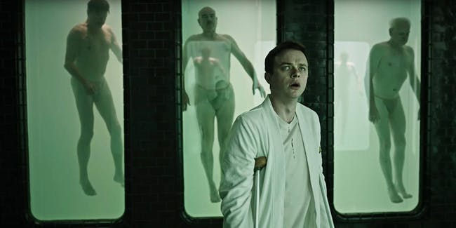 A Cure for Wellness starring Dane DeHann and Jason Isaacs
