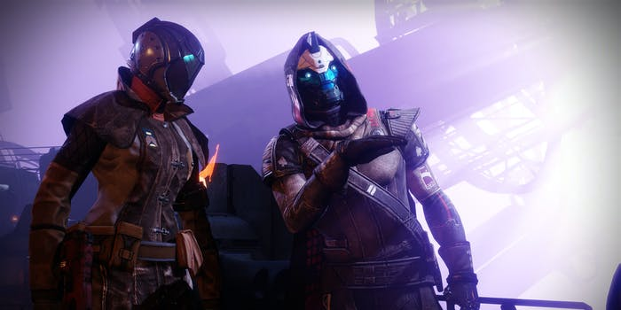 After Cayde's death, the Guardian finally speaks again.