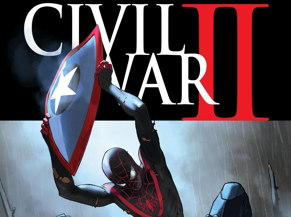 Spider-Man Might Kill Captain America in 'Civil War II'
