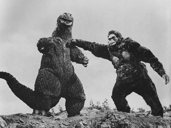 A Brief History of Godzilla's Blood Feud with King Kong