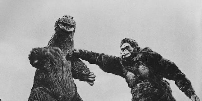 Godzilla King Kong