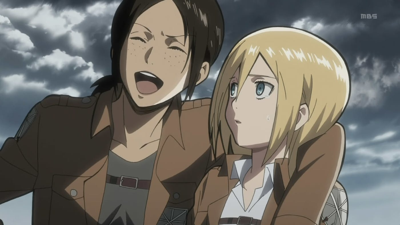 A Main Character on Attack on Titan Starts to Crack Under Pressure