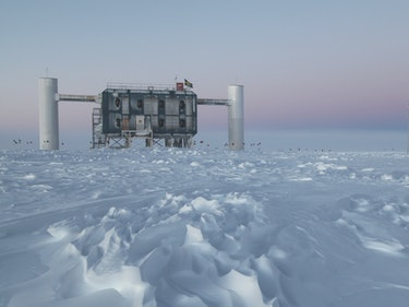 Searching for Tiny Neutrinos in the South Pole