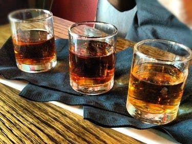 Whiskey shot shotglass bourbon scotch malt blend irish
